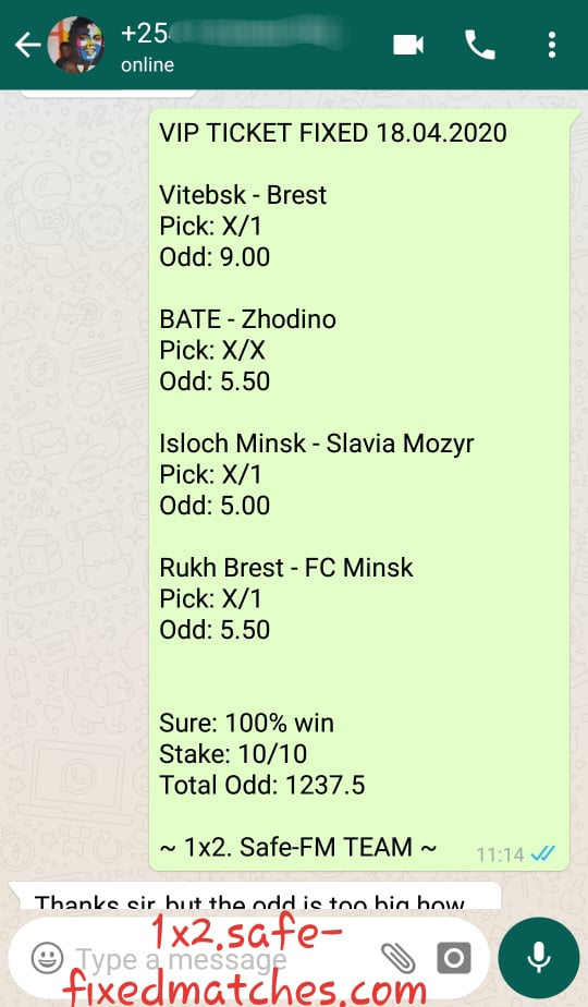 Betting Odds Today Tip